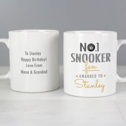 Snooker Fan Mug Thumbnail