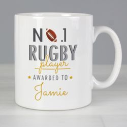 Rugby Players Mug Thumbnail