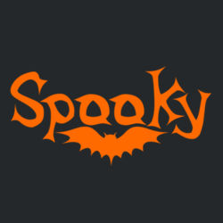 Spooky - Long sleeve t-shirt, Softstyle® Design