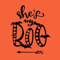 She's My Boo - Long sleeve t-shirt, Softstyle® Design
