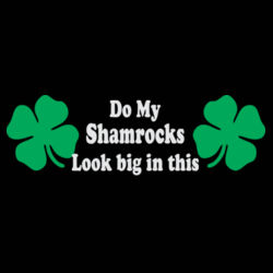 Do My Shamrocks Ladies Sweatshirt Design
