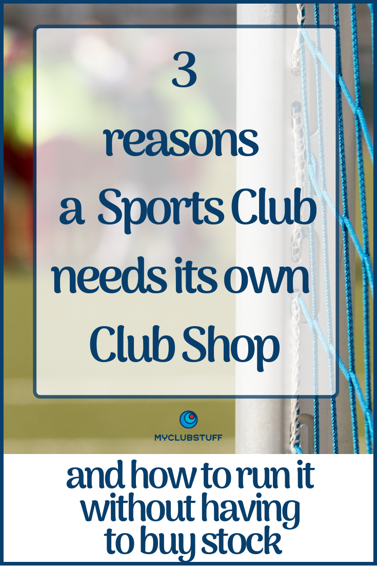3 reasons to have a Sports Club shop