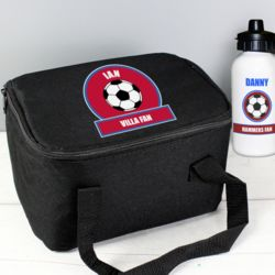 Football Lunch Bag & Bottle Thumbnail