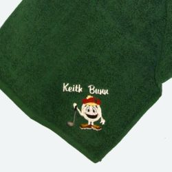 Lucky Golf Ball Golf Towel Thumbnail